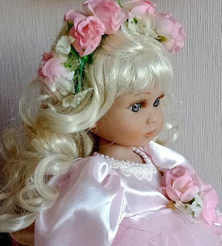 Фотографии куклы Белокурая красотка от Линды Рик