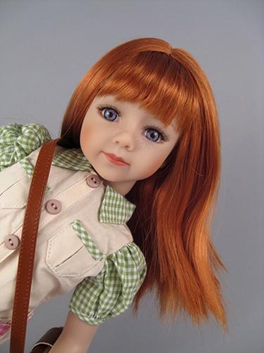 Игровые куклы с длинными волосами