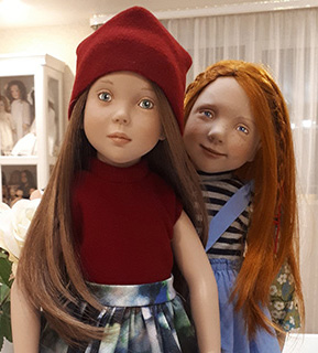 Фотографии кукол Цвергназе (Валентина, Энн Майя)