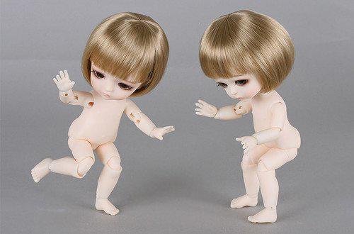 Подвижность тела кукол бжд Жёлтой линии от Latidoll