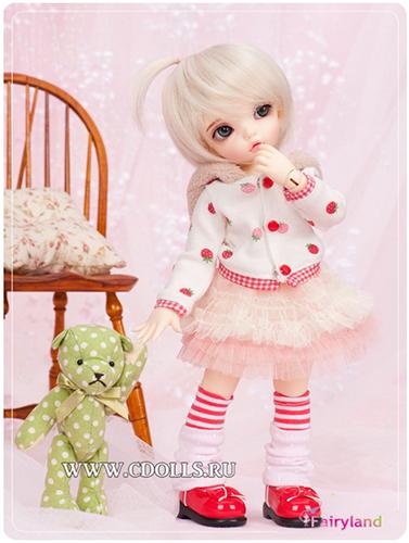 Базовая кукла бжд ЛиттлФи Бижу девочка от Fairyland