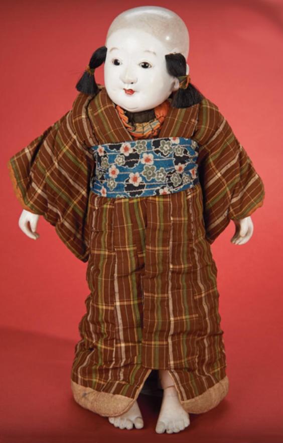 Кукла 43 см.  Япония, около 1850 г.