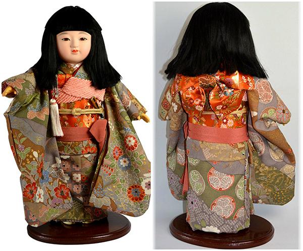 Кукла ичимацу, Япония, 1960 г.