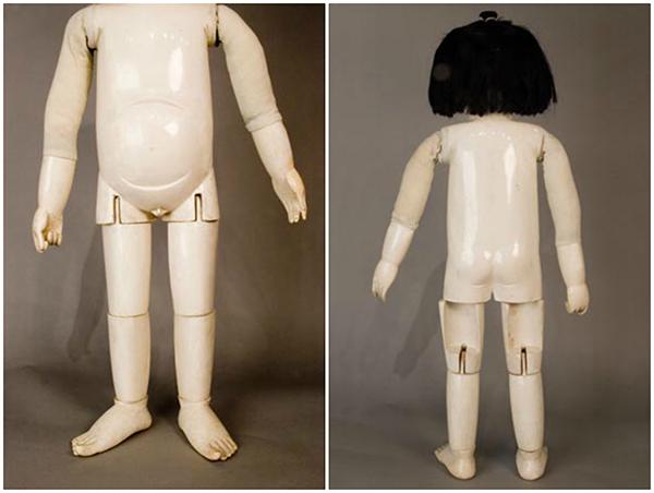 Тело деревянной куклы госё-нингё