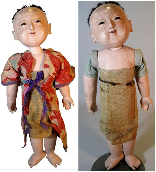 Античная кукла ичимацу