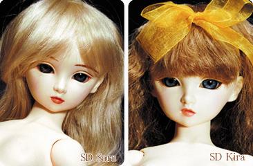 Куклы SD Сара и Кира