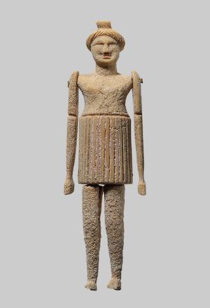 Кукла из кости, Греция, IV-III в. до н.э.