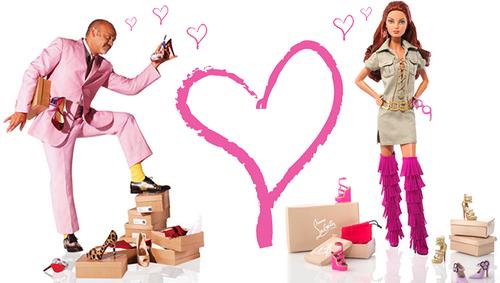 Кукла Barbie Dolly Forever by Christian Louboutin (Барби Вечная от Кристиана Лубутена)