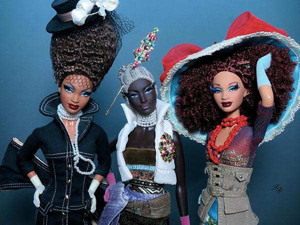 Куклы Барби от Байрона Ларса. Коллекция Chapeaux