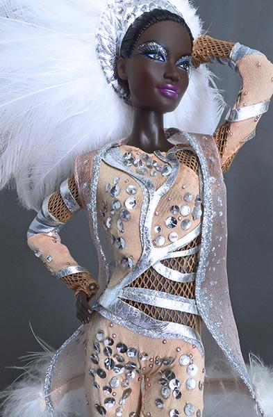 Кукла Barbie Stephen Burrows Pazette (Барби от Стивена Берроуза)