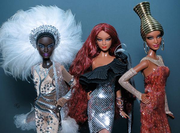 Куклы Барби от Стивена Берроуза