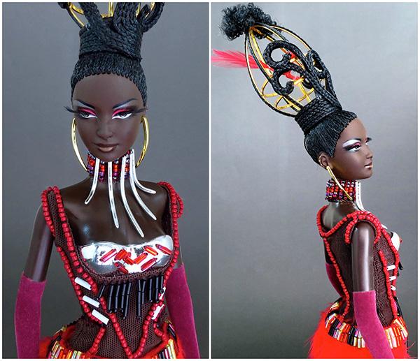 Кукла Barbie Tano (Барби Тано от Байрона Ларса)