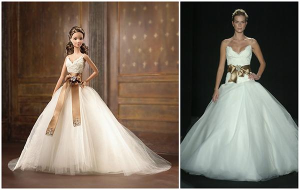 Кукла Barbie Monique Lhuillier Bride (Барби Невеста от Моник Люлье)