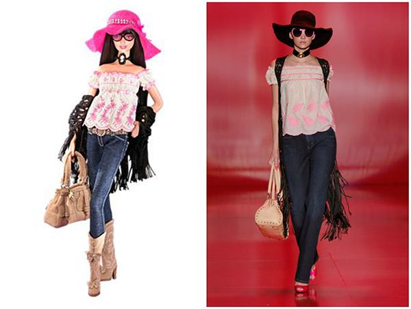 Кукла Barbie Anna Sui Boho (Барби Бохо от Анны Суи)