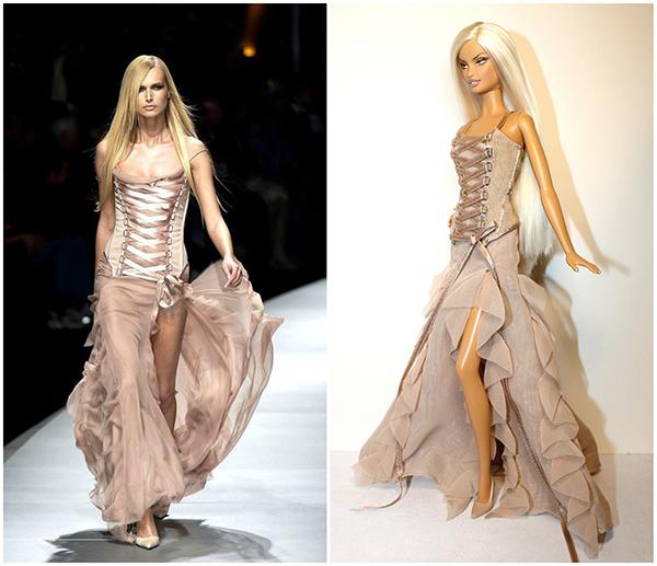 Кукла Barbie Versace (Барби Версаче)