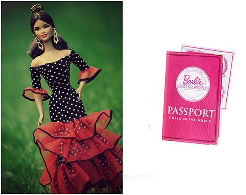 Кукла Барби Испания