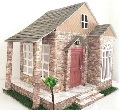 Дом из картона