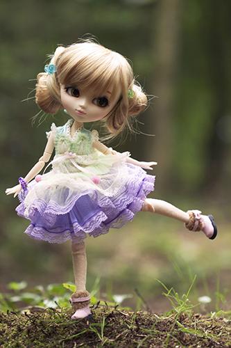 Кукла Пуллип мятное мороженое с поменянным париком