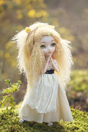 Кукла Пуллип Обновление Паджа с заменённым париком и глазами