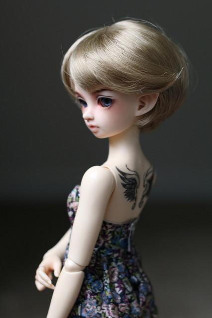 Кукла бжд МиниФи от Фейриленд
