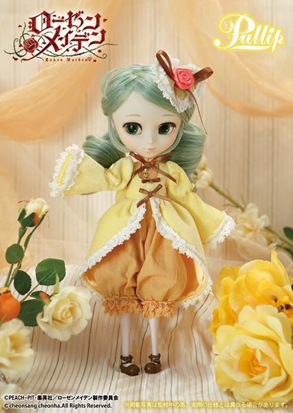 Кукла Pullip Rozen Maiden Kanaria (Пуллип Канария Розен Мэйден), Groove Inc