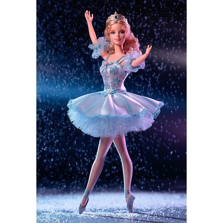 КУКЛА BARBIE AS SNOWFLAKE IN THE NUTCRACKER (БАРБИ СНЕЖИНКА ИЗ БАЛЕТА 'ЩЕЛКУНЧИК')