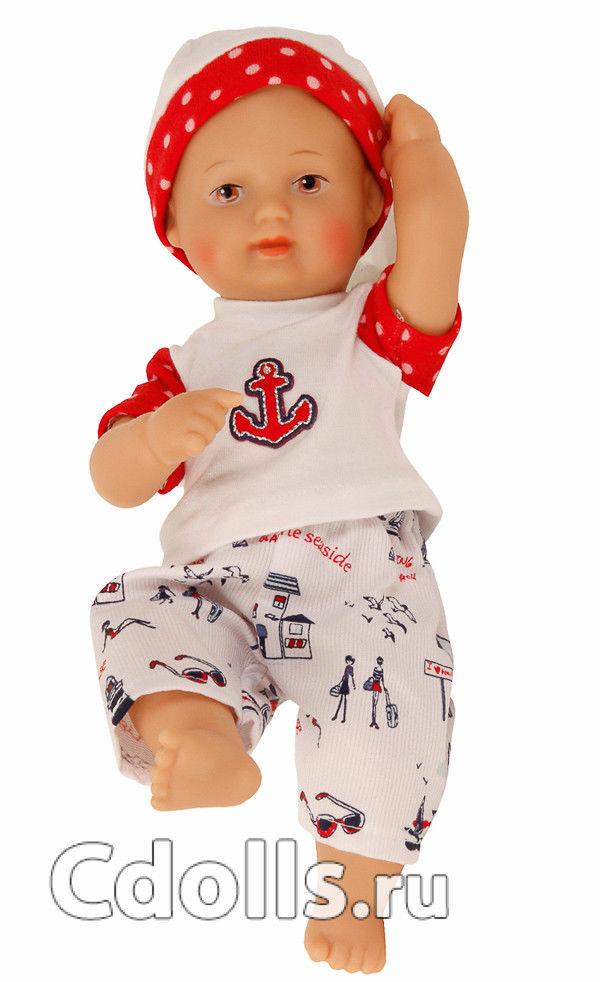 Кукла Schildkrot My First Baby In Sailor Outfit (Шильдкрет Мой первый малыш в костюме моряка)