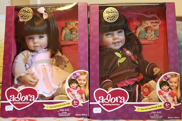 Упаковка кукол Адора