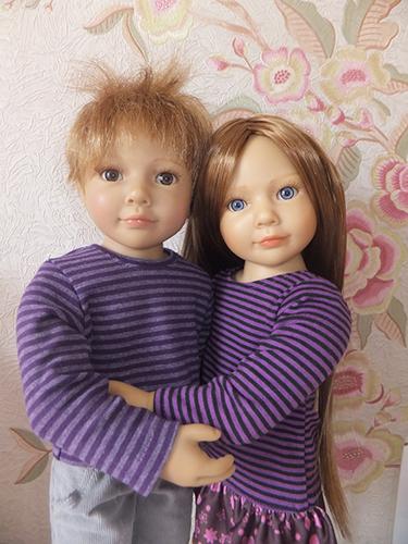 Кукла Роберт и Джулика Kidz'N'Cats