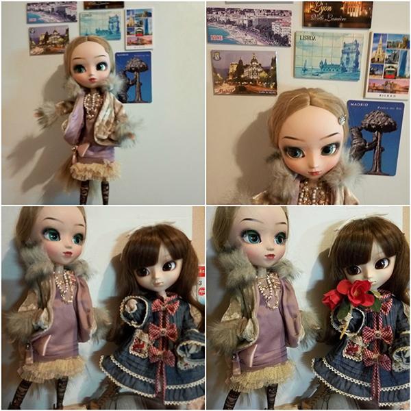 Кукла Пуллип Катрина с куклой Пуллип Мэг
