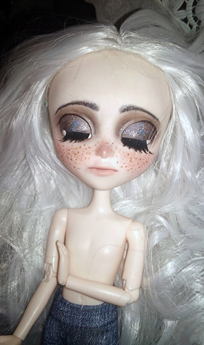 Базовый набор куклы Исул - голова и тело