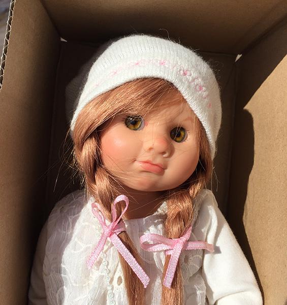 Кукла Schildkrot Pia Muller-Wichtel (Шильдкрет Пиа Мюллер-Вихтель с сумочкой)