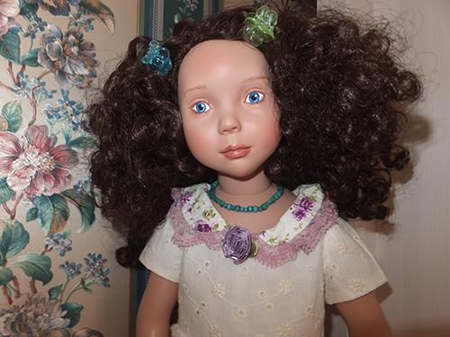 Кукла Виолетт Цвергназе