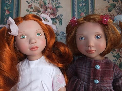 Куклы Абигайл и Каролина Цвергназе