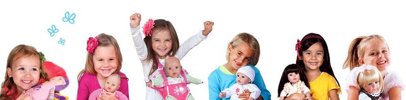 Детки с куклами Адора