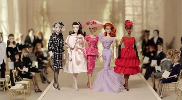 Коллекционные куклы Барби силкстоун. 2017