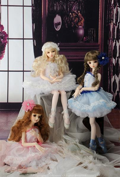 Куклы бжд Доллмор Ballet Kid doll