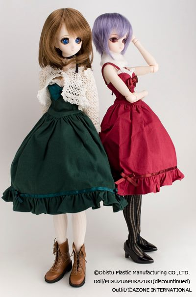 Пример собранной куклы Обитсу