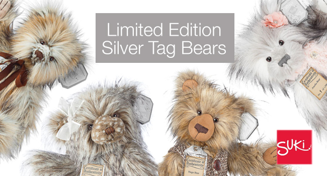 Коллекционные медведи от Suki