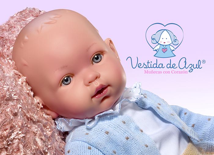 кукла Вестида де Азул